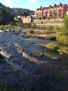 The River Dee - rafters gone on their way