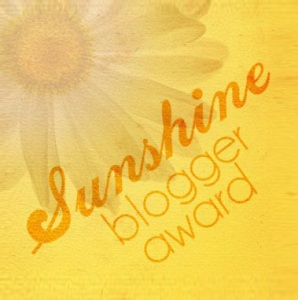 Sunshine blogaward