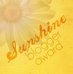 Sunshine blogaward