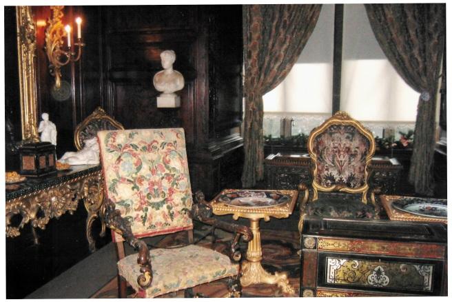 Warwick Castle Drawing Room