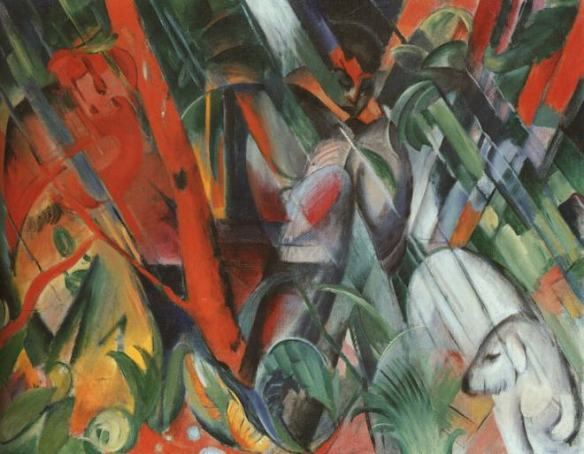 franz_marc-in_the_rainim_regen_1912