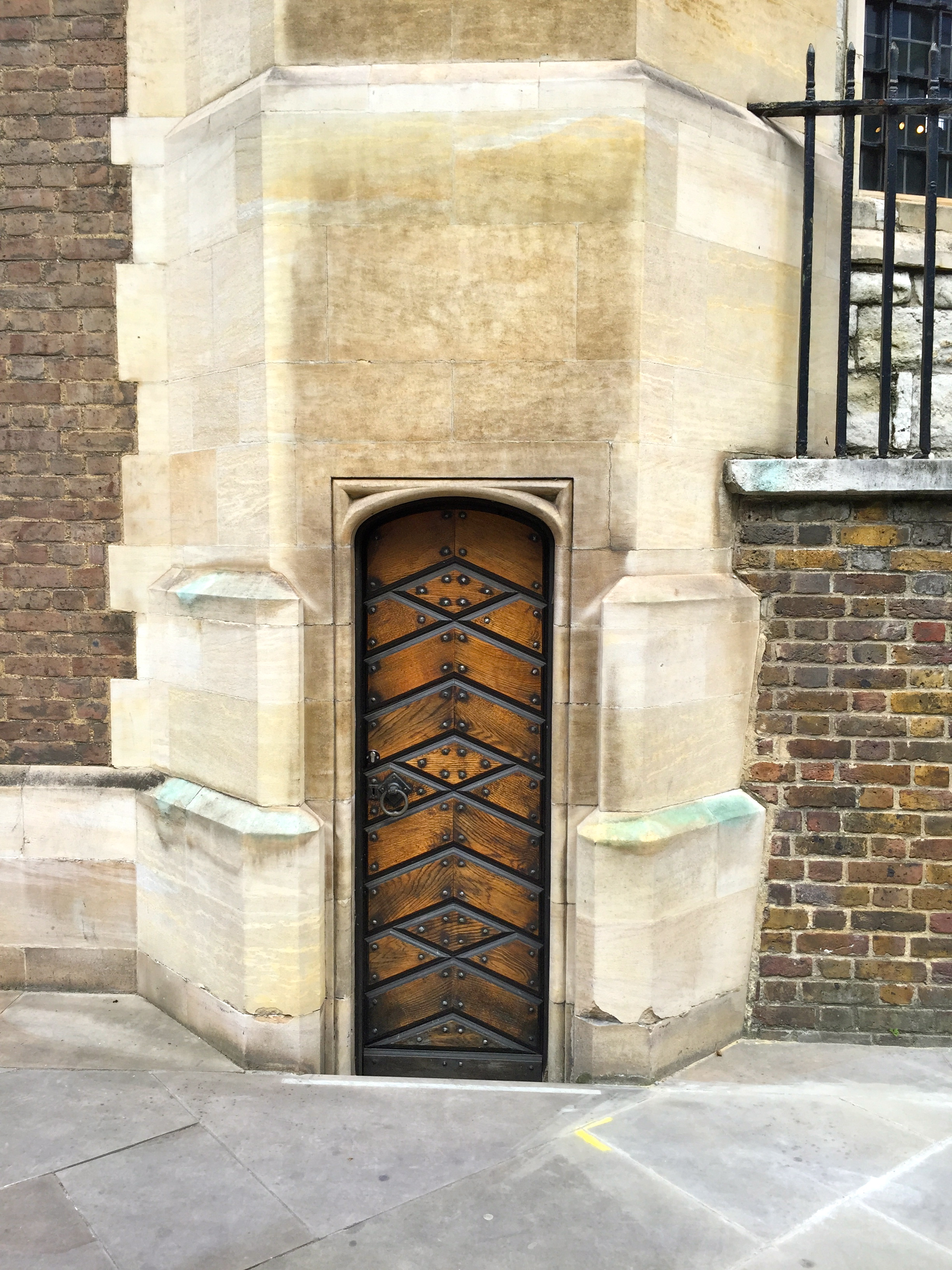 These two lovely doors are both from the church of All-Hallows-By-The-Tower in London England. & Thursday Doors u2013 All-Hallows-By-The-Tower London | Journey To Ambeth