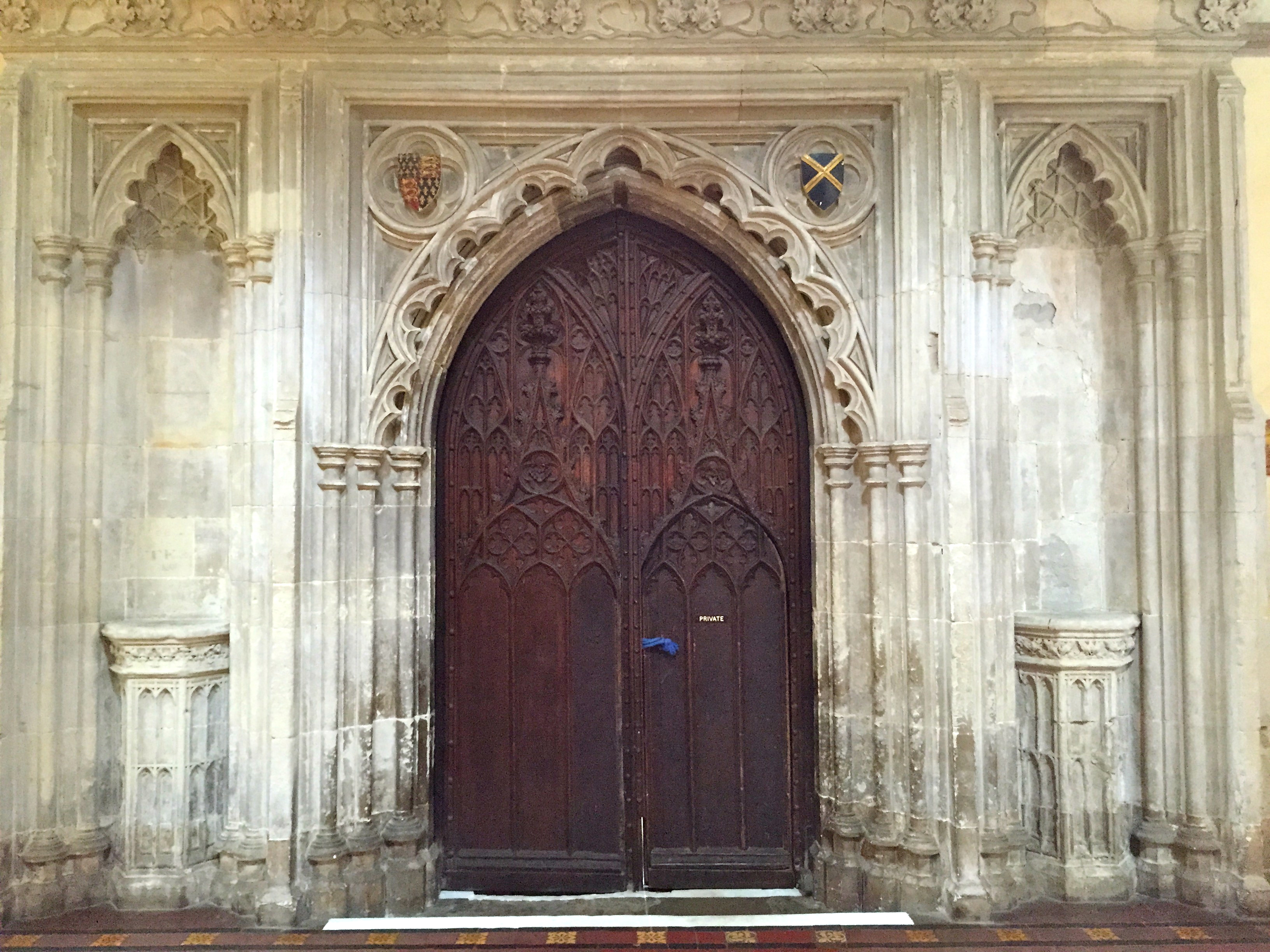 A little while ago I posted about a set of doors at St Albans Cathedral which someone commented u0027were probably the oldestu0027 set of doors to appear in the ... & Thursday Doors u2013 The Bishopu0027s Door St Albans Cathedral | Journey To ...