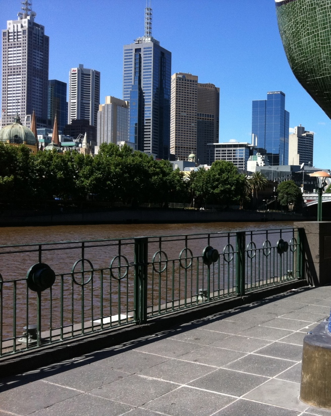 Melbourne and the Yarra River